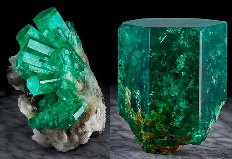 Wilensky Gallery Curates Spectacular Collection of Natural Emerald Specimens