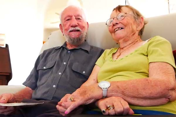 Bridal Jewelry Stored Away for 60 Years Finally Adorns College Sweetheart's Finger